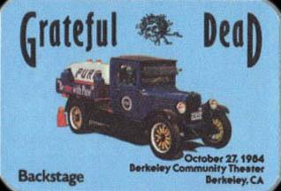 October 25, 1984 BCT Pass