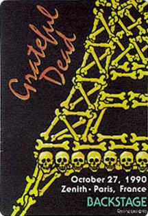 October 27, 1990 Paris Pass